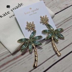 Kate Spade California Dreaming Palm Tree Earrings